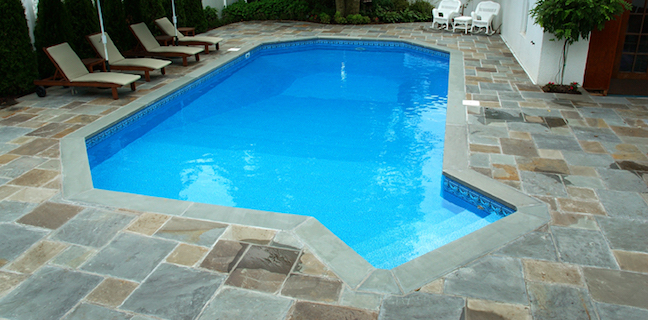 Vinyl Liner In Ground Pool Installation True Blue Pools Lex
