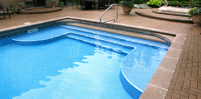True Blue Pools Vinyl Pool Liner Installation