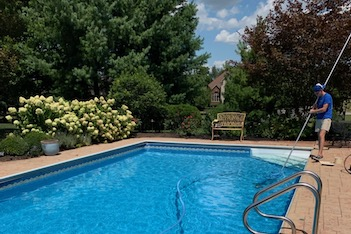 True Blue Pools Lexington Kentucky Weekly Maintenance